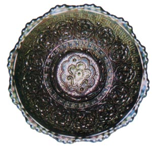 Fenton Persian Medallion Plate