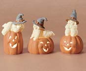 Three Happy Witches, from the Snowbabies range