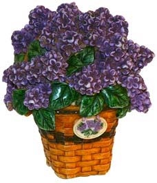 Harmony Kingdom and Longaberger release Lilac Basket