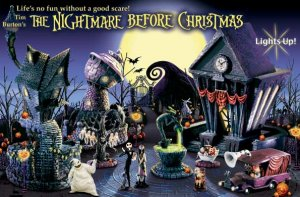 Tim Burton's The Nightmare Before Christmas Collectible Halloween Village Will Make You Scream with Delight!