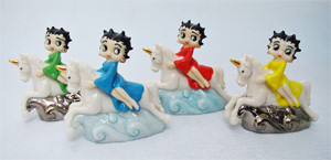Wade Whimsie Betty Boops Celebrate 15 Years Of Wade Wade Betty Boop Editions