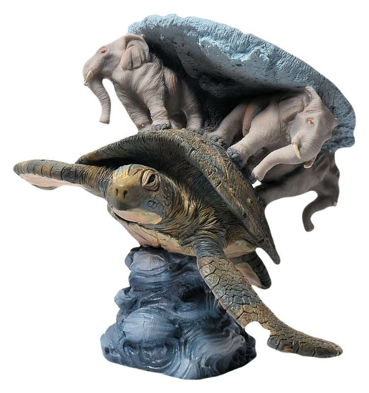 Discworld Clarecraft - DW70 - Great A'Tuin - The Discworld
