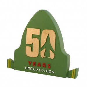 Thunderbirds 50th Anniversary plaque