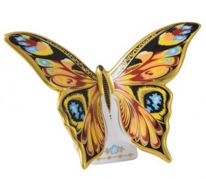 Royal Crown Derby Peacock Butterfly 2016