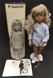 Sasha Trendon Blonde 4-107 girl doll with blonde hair