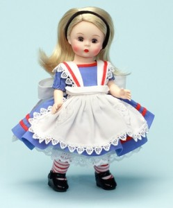 Alice from The Alice in Wonderland Collection - Wendy 8 inch doll