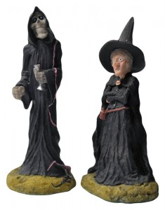 discworld by clarecraft Granny Weatherwax and Death