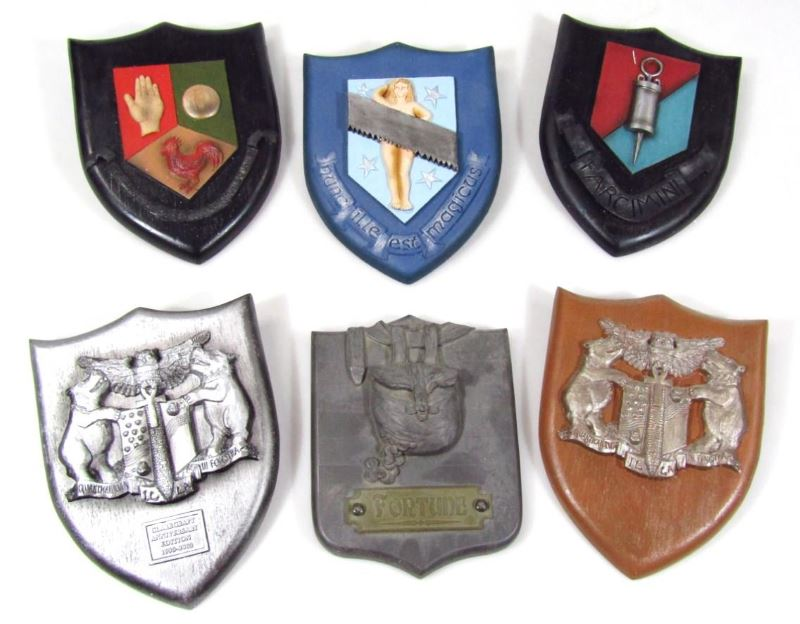 discworld by clarecraft collectors club shields