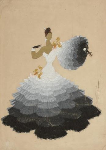 Erte Danseuse De Tango
