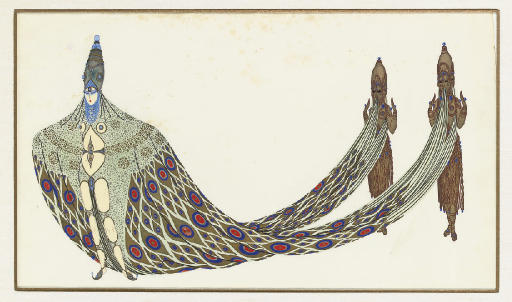 erte THE GANGES-THE RIVERS' FOLLIES BERGERE