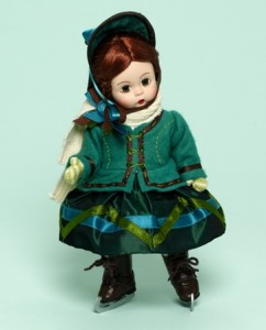 Little Women Meg Goes Ice Skating 8-inch Collectible Doll