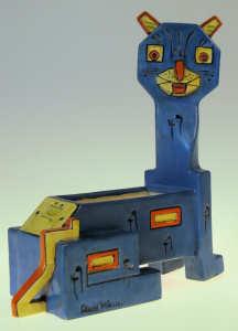 Louis Wain Amphora Cubist Cat