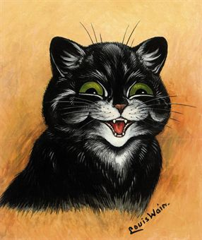 Louis Wain The Contented Cat