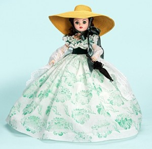 Twelve Oaks Scarlett O'Hara from The Gone With the Wind Collection - Cissy 21 inch doll Ltd Ed