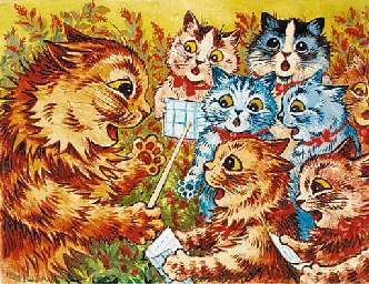 Louis Wain The Choristers