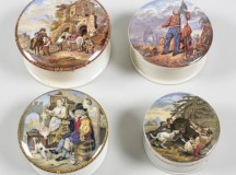 Pot-Lids – one of the earliest forms of visual advertising