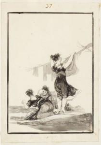 Francisco Jose de Goya y Lucientes Drawing