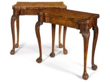 George II 18th Century Card Tables