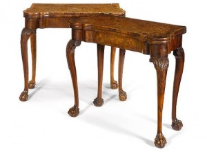 George II 18th Century Card Table