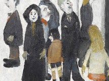 L.S Lowry Hidden Self Portrait