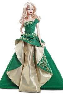 2011 Holiday Barbie by designer Robert Best