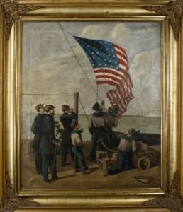 1865 Civil War Painting