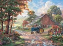 Thomas Kinkade Summer's Heritage