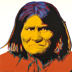 Andy Warhol (American, 1928-1987) Geronimo, from COWBOYS AND INDIANS