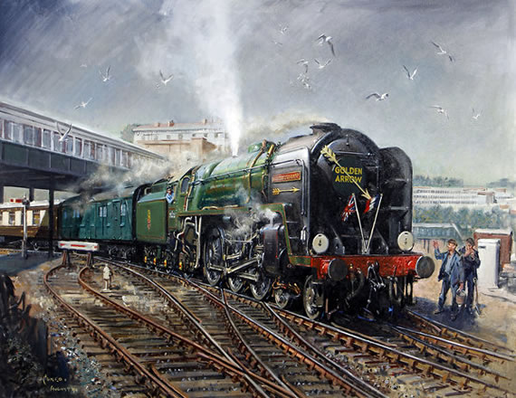 Terence Cuneo Original Paintings For Sale