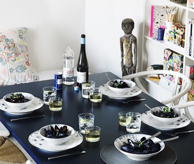 blue elements royal copenhagen party invitations ideas. Black Bedroom Furniture Sets. Home Design Ideas