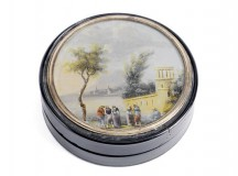 Lord Nelson snuff box for auction