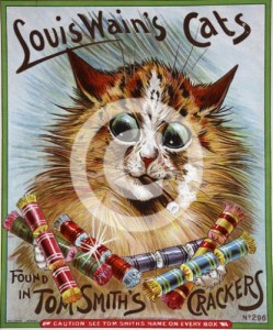 Louis Wain Tom Smith's Crackers