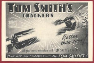 Tom Smith's Crackers 1973