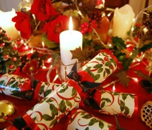 Collecting Christmas Crackers