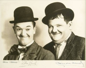 laurel-and-hardy-signed-photo