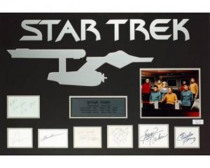 star trek original autographs