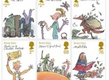 Gloriumptiously collectable – The official Roald Dahl stamps