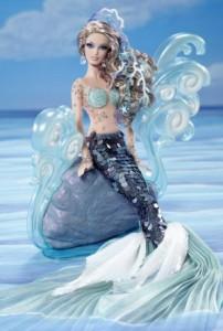 The Mermaid Barbie Doll
