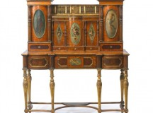 Secretaire reputedly for King Charles IV of Spain at Auction