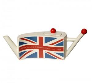 Diamond Jubilee Flag teapot 2012