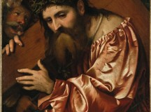 Girolamo Romanino picture of Christ Carrying the Cross at auction