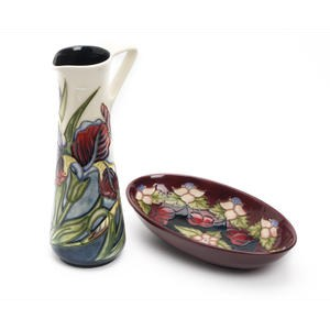 Moorcroft Collectors Club Iris Jug