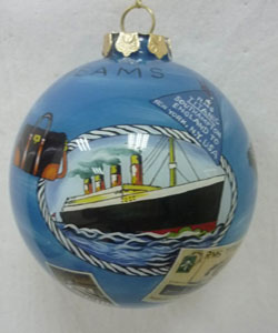 titanic 100th paperweight