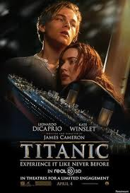 Titanic the Movie 3D Poster