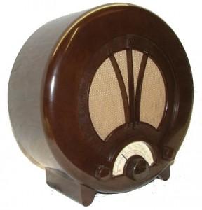 bakelite ecko radio