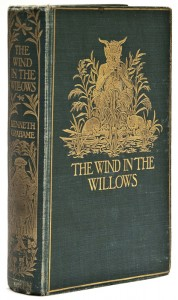 wind in the willows 1st edition book