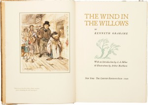 wind in the willows arthur rackham