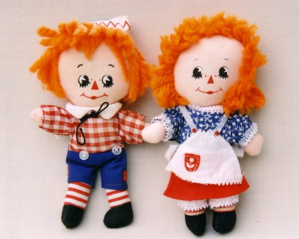 Raggedy Andy & Ann