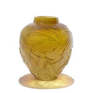 rene lalique archers vase