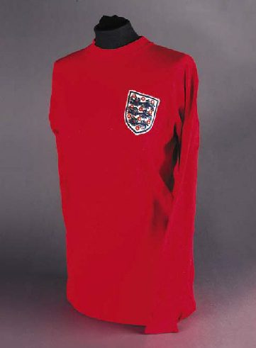 world cup 1966 geoff hurst shirt